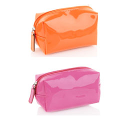 Marks and Spencer neon Makeup bags