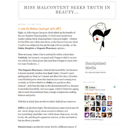 <b>Miss Malcontent's Sp...</b>
