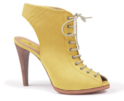 Miss Sixty Yellow Peep Toes