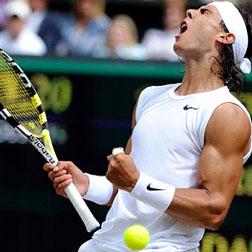 Nadal at Wimbedon