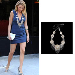 Serena - Antwerp Necklace by Suzanna Dai $295