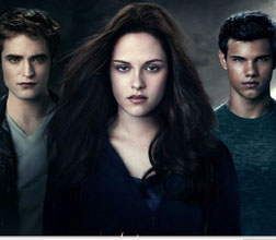 The main characters of Twilight