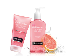 Visibly Clear Pink Grapefruit Range
