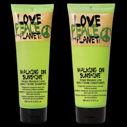 Walking on Sunshine Shampoo and Conditioner