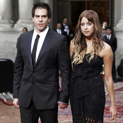Peaches Geldof and Eli Roth at the Dolce and Gabbana 20th Anniversary Party