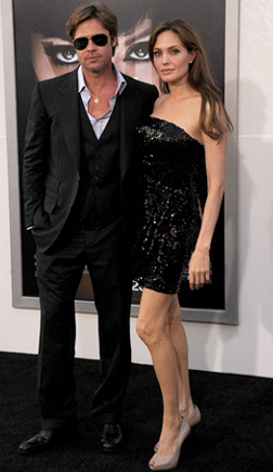 Brangelina at Premiere for Salt