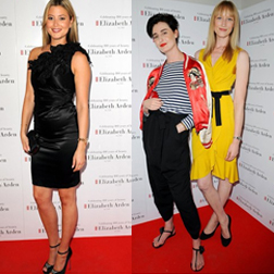 Holly Valance and Erin O'Connor and Jade Parfitt