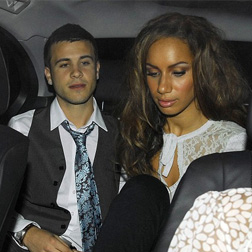 Leona Lewis and Lou Al-Chamaa