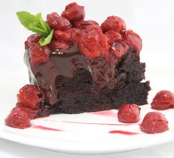 Morello Cherry Chocolate Cake