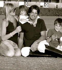 Nacho Figueras and his family (missing one veyr cute baby though!)
