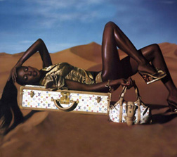 Naomi Campbell for Louis Vuitton