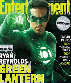 Ryan Renolds as The Green Lantern
