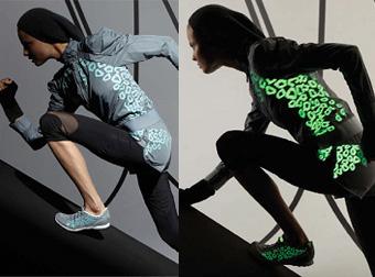 Stella McCartney for Adidas Glow-in-the-dark range