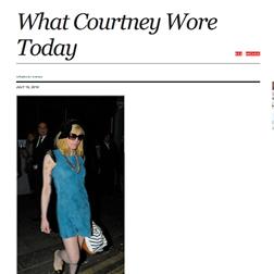 <b>Courtney Love Bloggi...</b>