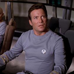 William Shautner as Captain Kirk