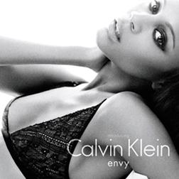 Zoe Saldana for CK Underwear