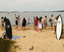<b>Chanel Beach Party...</b>