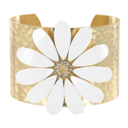 Gold Bangle by Jolie Bijoux