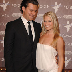 Hayes McArthur and Ali Larter