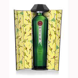 Jeremy Scott Tanqueray bottle
