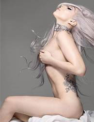 Lady Gaga with Grey Hair