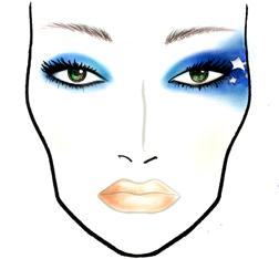 MAC look - Starz
