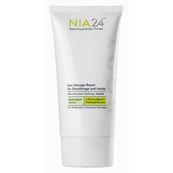 NIA 24's Sun Damage Repair For Decolletage and Hands