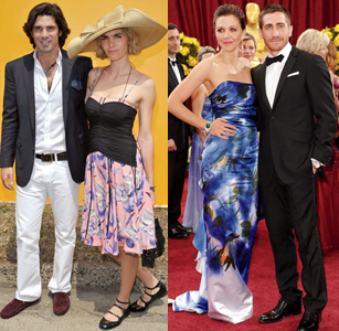 Nachos Figueras and his wife and Maggie and Jake Gylenhaal