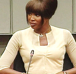 Naomi Campbell in court today