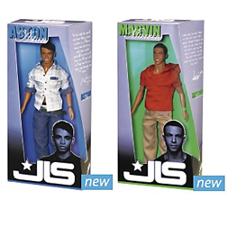 Aston and Marvin Dolls