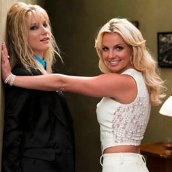 Britney and Brittany on Glee