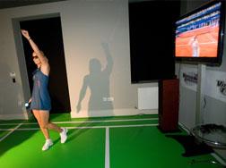 Caroline Wozniacki wearing Stella McCartney fr Adidas SS11 fashion