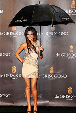 Cheryl Cole at Nobu for de Grisogono