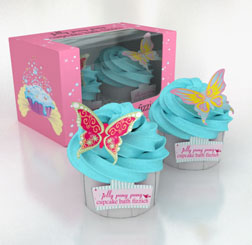 Cupcake Bath Fizzies
