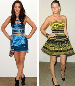 Gossip Girls - Leighton Meester and Blake Lively