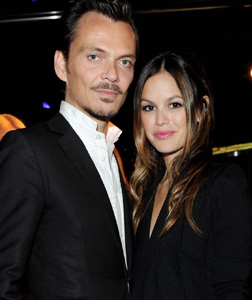 Matthew Williamson and Rachel Bilson in Milan