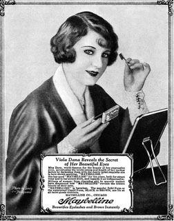 One of the first Maybelline posters