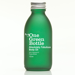 My One Green Bottle Absolutely Fabulous Body Oil