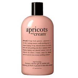 Philosophy Apricots and Cream Shampoo, Shower Gel and Bath Foam