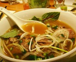 Pho Noodle Soup at Nha Trang