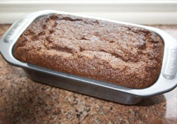 Port Poached Figs with Chocolate Loaf Cake - leave to stand in the baking tray