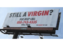 Still a Virgin? Billboard