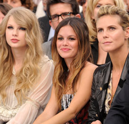 Taylor Swift, Rachel Bilson and Heidi Klum