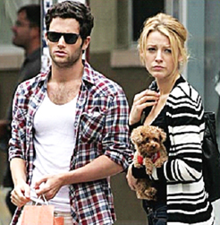 Blake Lively and Penn Badgley Split