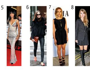 Celebrity Fashion Spots