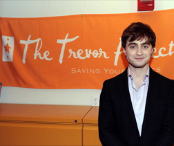 Daniel Radcliffe for the Trevor Project