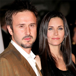 David Arquette and Courtney Cox-Arquette