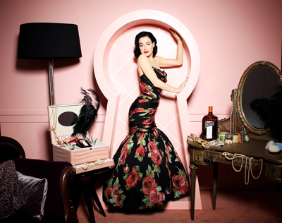 Dita Von Teese and the My Private Cointreau Coffret