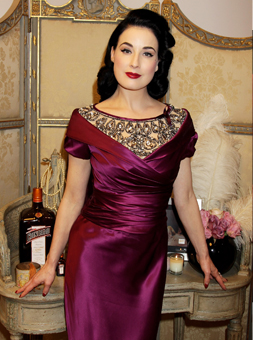 Dita Von Teese at the launch of My Private Cointreau Coffret