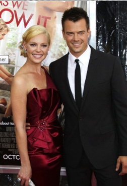 Katherine Heigl and Josh Duhamel at the premiere in NYC